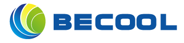 BECOOL PROJECT Sticky Logo