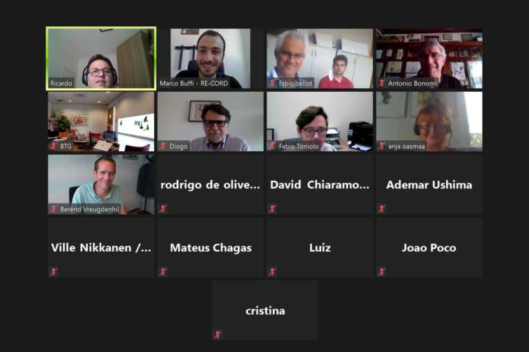 BECOOL and BIOVALUE partners in the thermochemical experimental activities at the last virtual meeting